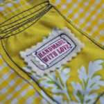 How to sew an appliqued canning jar bag