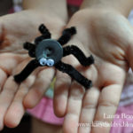Halloween Crafts for Kids: Make a Button Spider