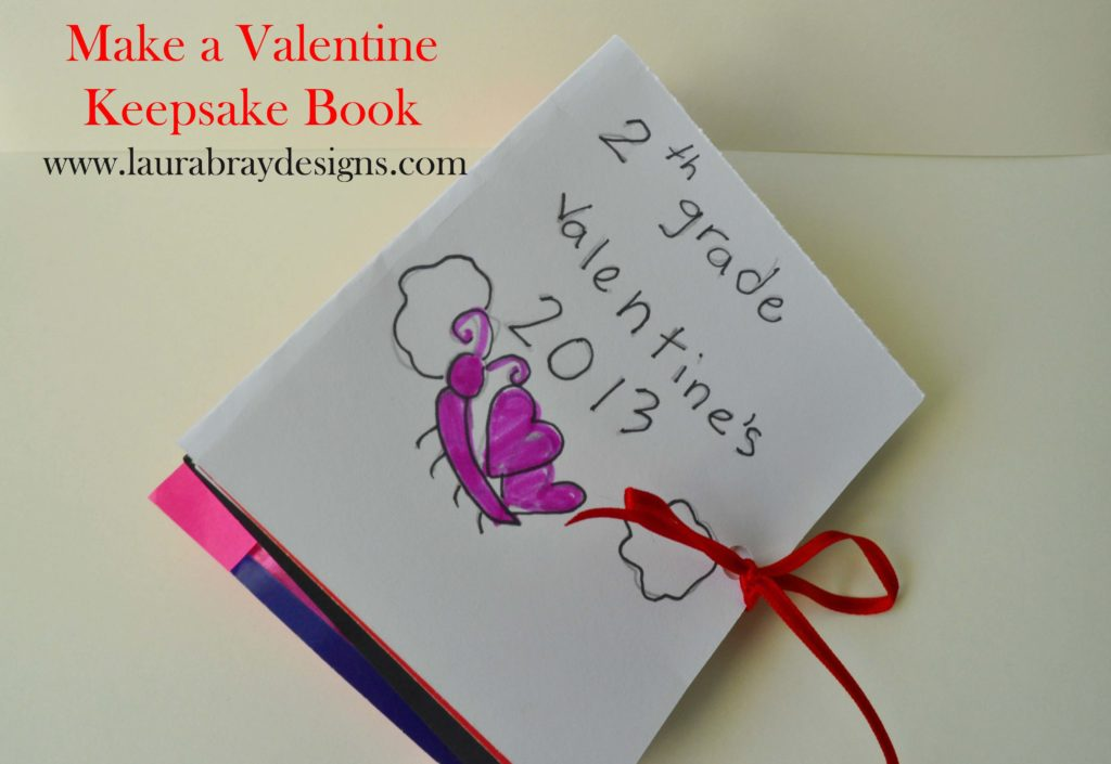 Valentine Keepsake Book www.laurabraydesigns.com