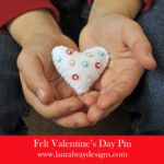 Valentine Pin Badge