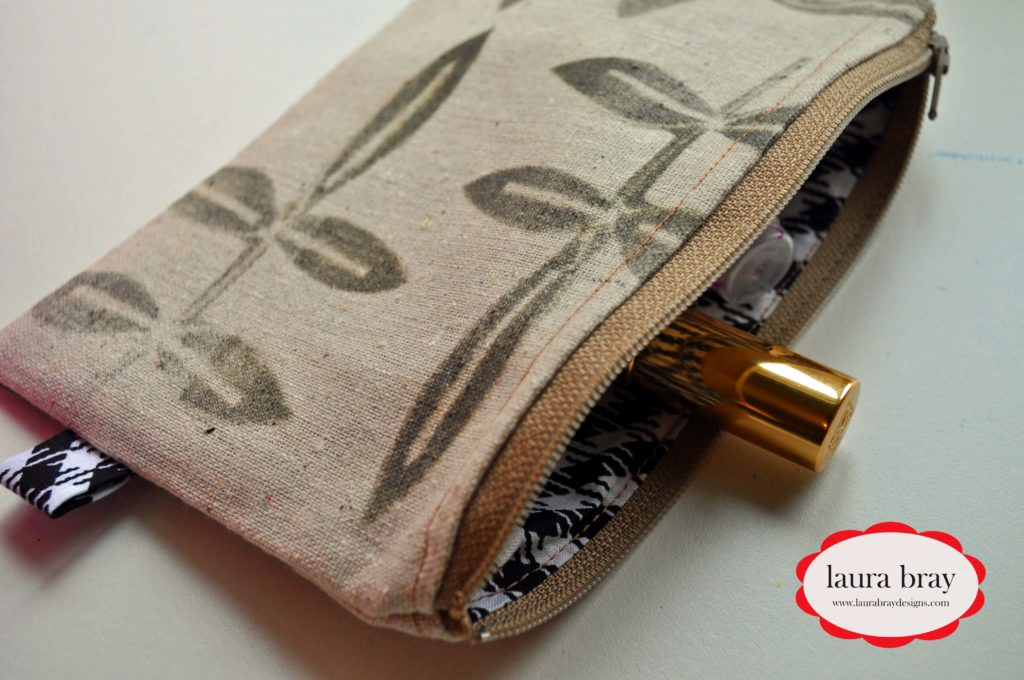 Sew a Zipper Pouch by Laura Bray Designs