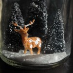Mason Jar DIY Snow Globes