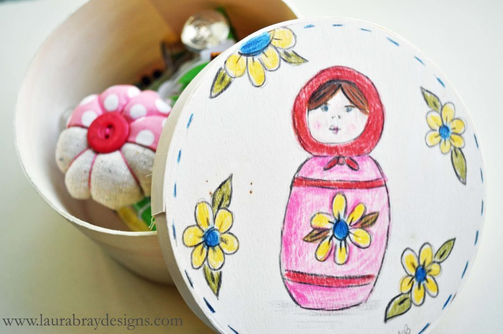 Heirloom Sewing Kit||www.laurabraydesigns.com