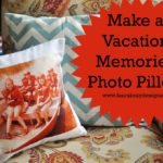 Vacation Photo Pillow