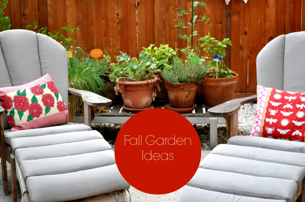 Fall Garden Ideas with LauraBrayDesigns.com