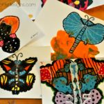 Crafting with Kids: Paint Blot Butterflies