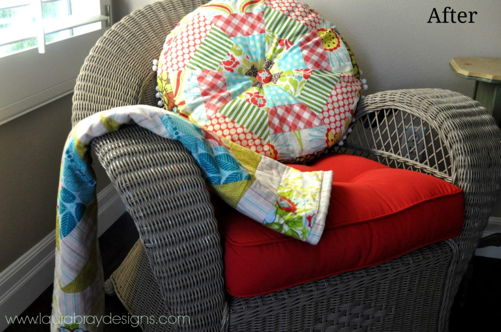 Chair Makeover with Krlyon Paints & Laura Bray Designs