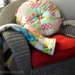 Wicker Chair Makeover with Krylon
