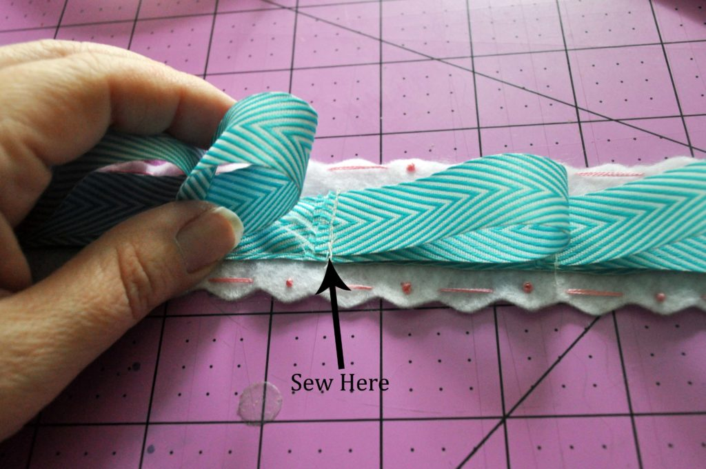 DIY Ribbon Headband Organizer Tutorial