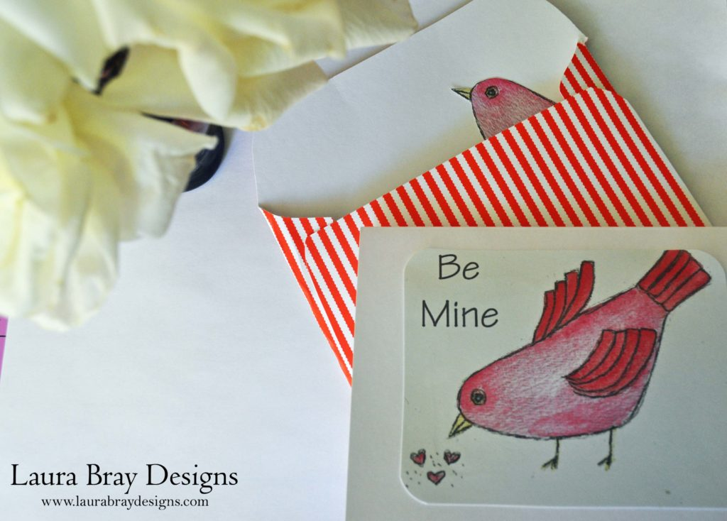 Bird Valentines by Laura Bray