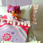 DIY Doll Bed with Sticky Sticks