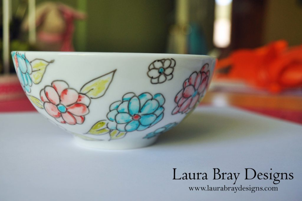 Bowl pattern by Laura Bray