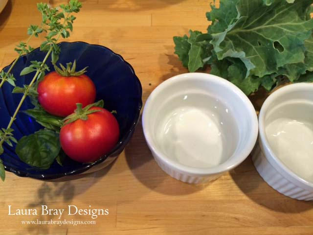 Fresh ingredients for a great brunch recipe. www.laurabraydesigns.com