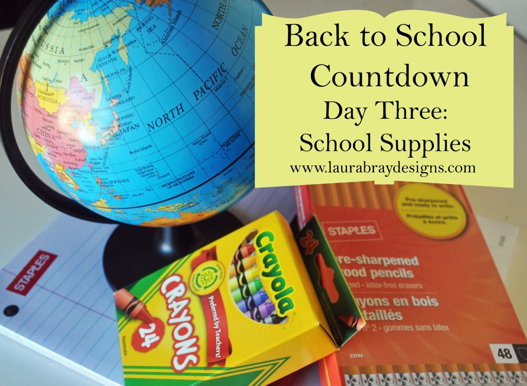 Back to School Countdown to Organization with Laura Bray