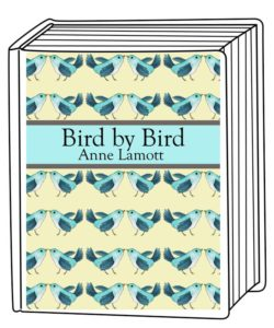 Bird Bird on Book Template