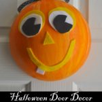 DIY Pumpkin Door Decor with Smoothfoam