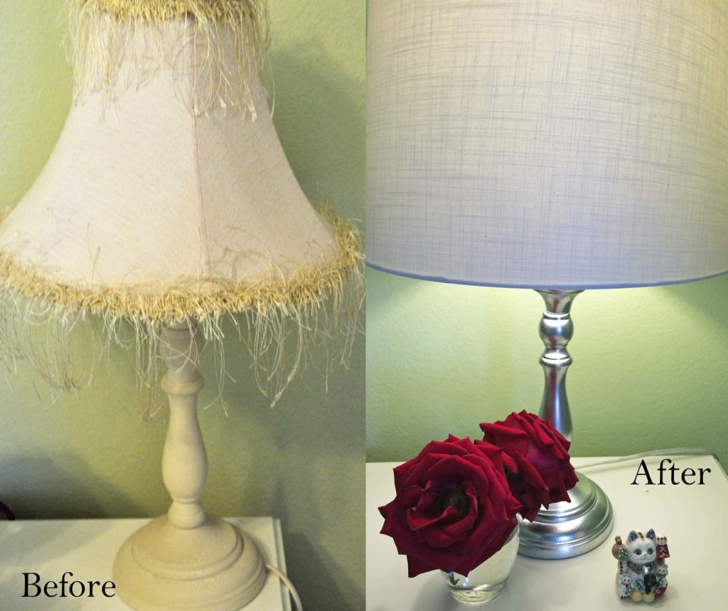 Makeover a Lamp with Spray Paint: LauraBrayDesigns.com