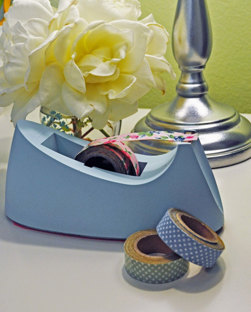 Make a Washi Tape Dispenser::LauraBrayDesigns.com