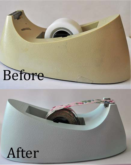 Tape Dispenser Before & After