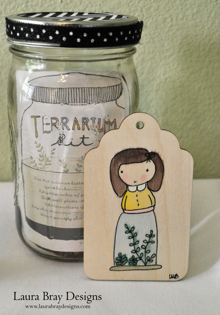 Terrarium Kits: LauraBrayDesigns.com