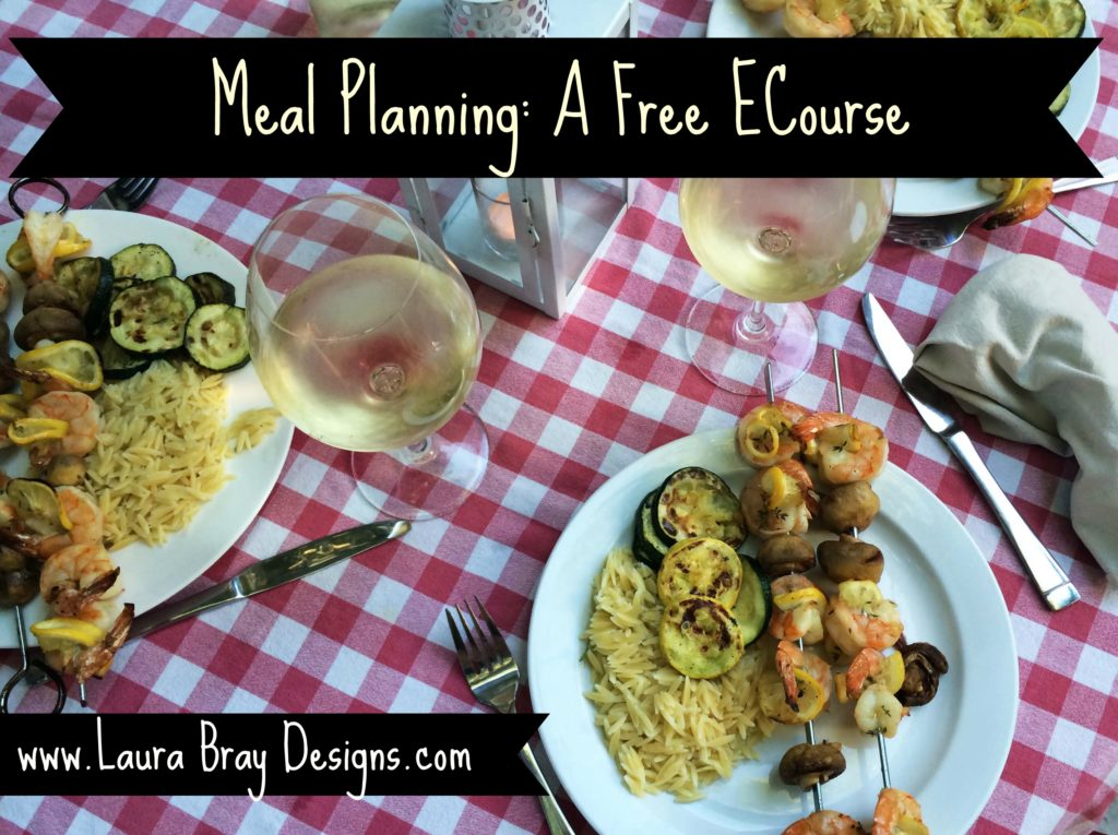 Meal Planning Ecourse! It