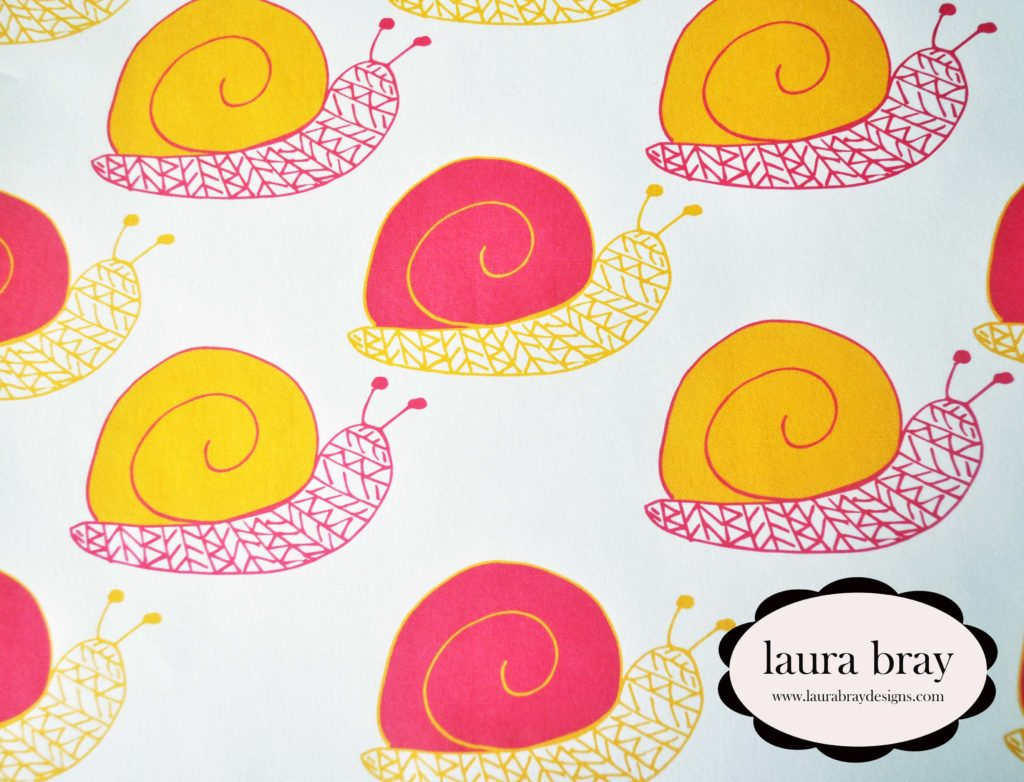 Snail Pattern by Laura Bray Designs