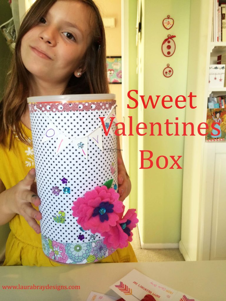 Valentine Box by Laura Bray Designs