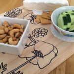 Make a Doodled Snack Tray: LauraBrayDesigns.com