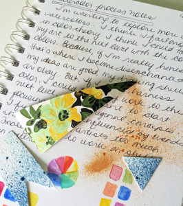 Keeping a Creative Process Journal::www.laurabraydesigns.com