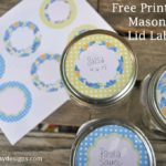 Free Printable: Mason Jar Labels