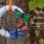 Butterfly Dream Catcher by LauraBrayDesigns.com