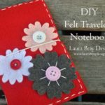 Make a Traveler's Notebook from Felt