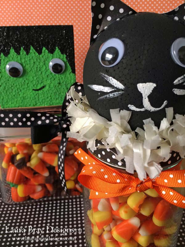 Halloween Candy Jars Laura K Bray Designs
