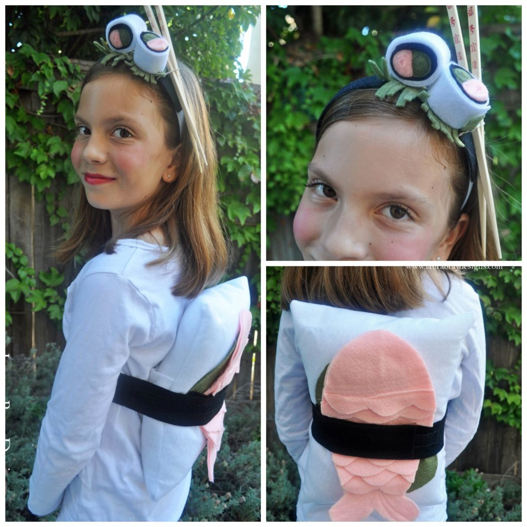 Sushi Costume by LauraBrayDesigns.com