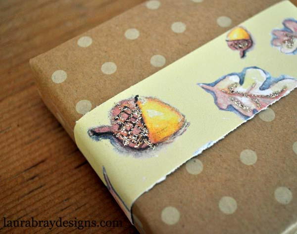 Gift Wrap with Fall Printables