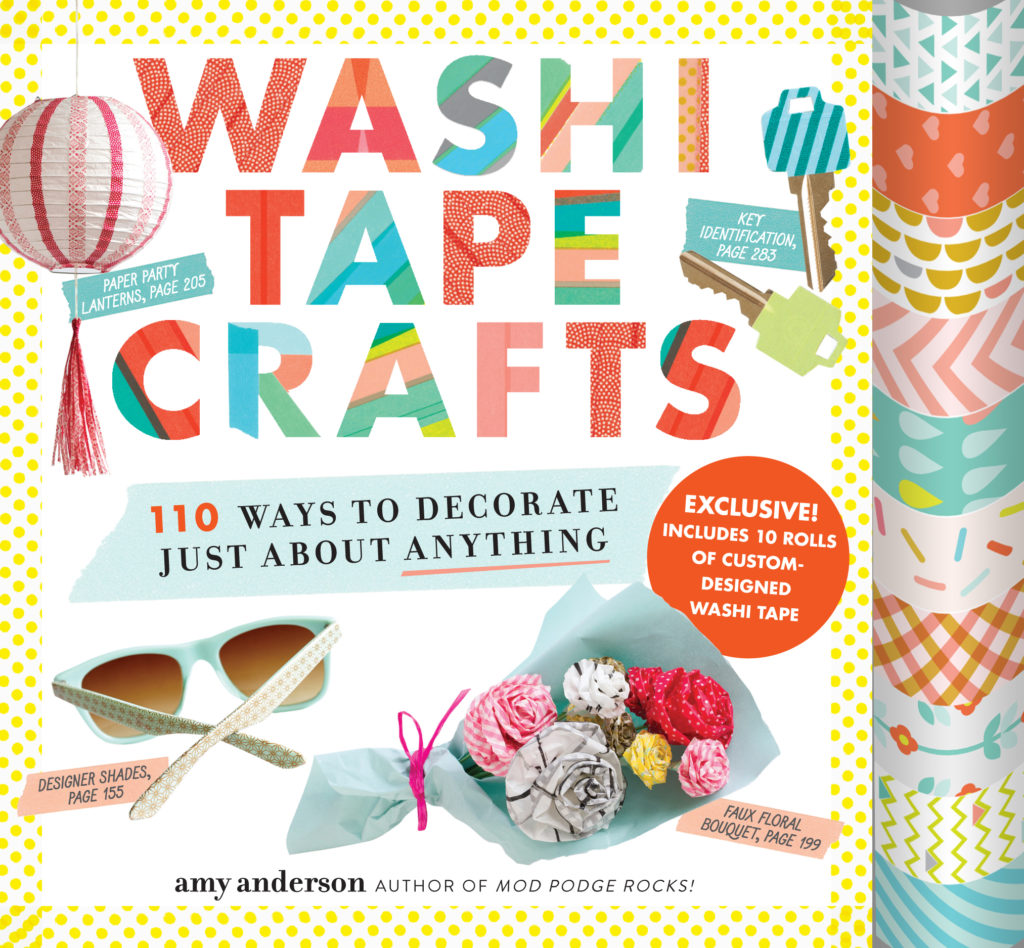 Book Review of Washi Tape Crafts on LauraBrayDesigns.com