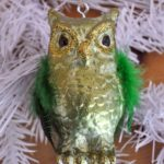Green Owl Ornament