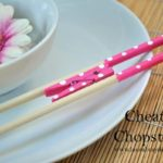 Chinese New Year Craft: Cheater Chopsticks