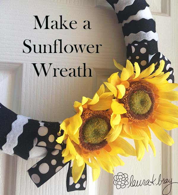 Sunflower Wreath Beauty Shot