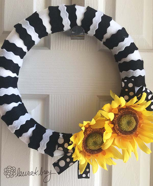 Sunflower Wreath Whole