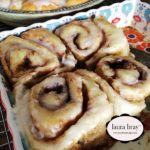 Cinnamon Roll Recipe on LauraBrayDesigns.com