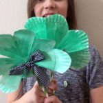 Make a Shamrock from Paper Plates