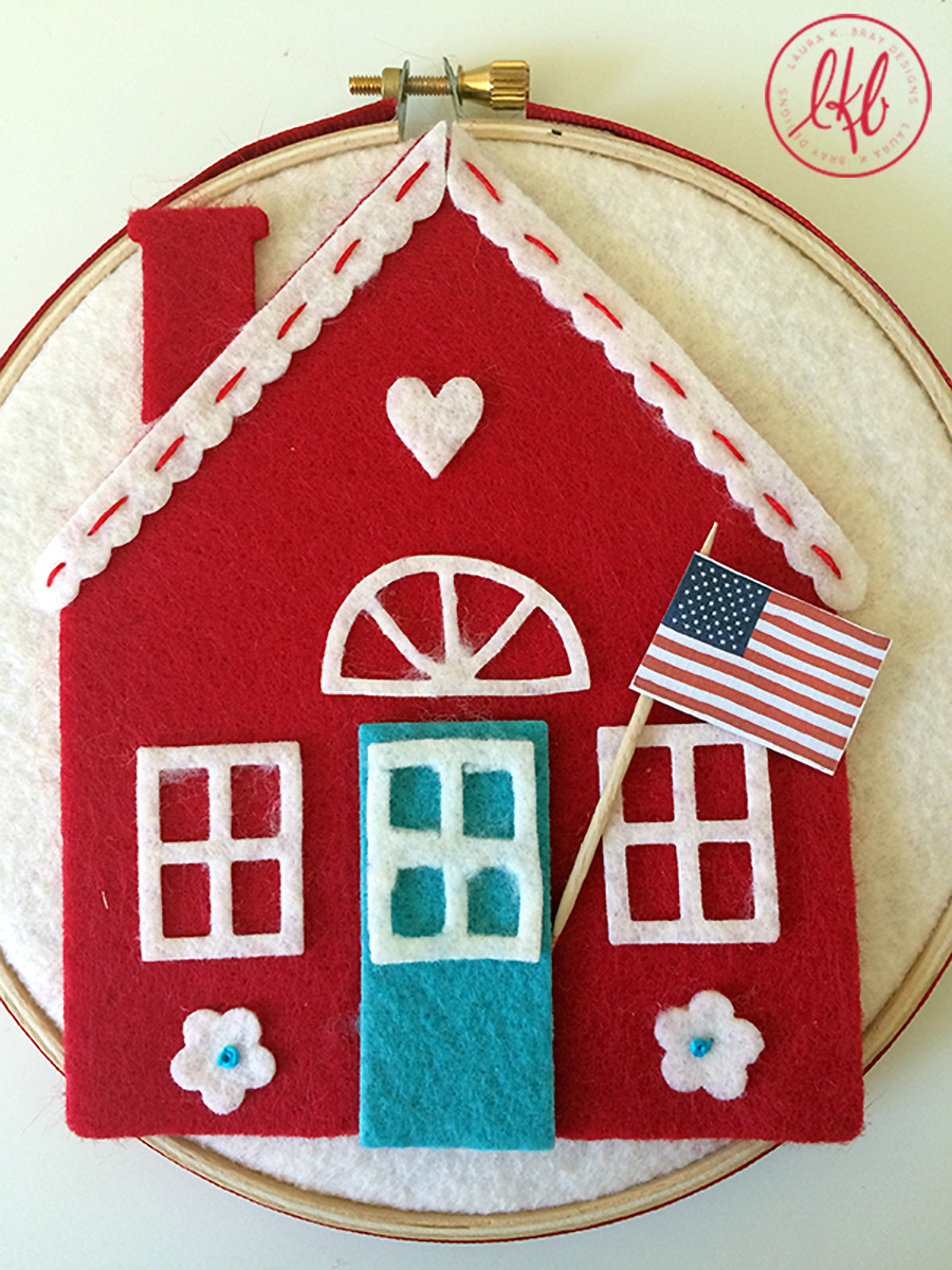 July Fourth Crafts Round-Up//Laura K Bray Designs