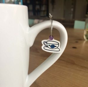 Summer Coffee Lover's Blog Hop: Shrink Plastic Tea Cup Charms