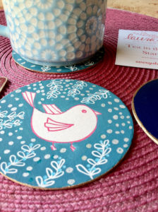 Tea in the Garden Coasters with Guest Designer Jen Lashua