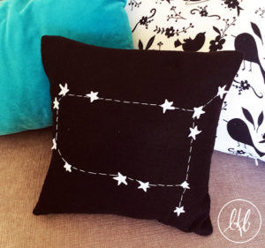 DIY Horoscope Pillows