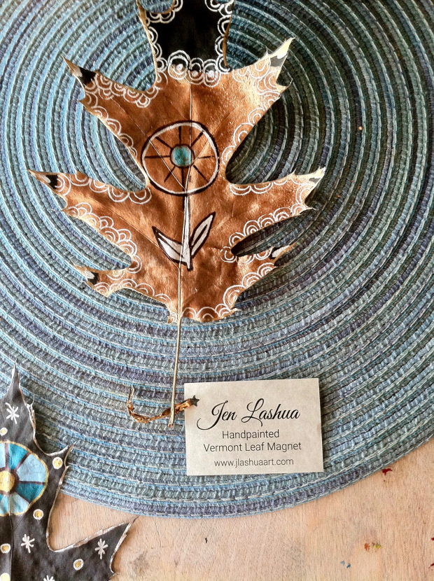 Stamped And Painted Leaves With Jen Lashua Laura K Bray