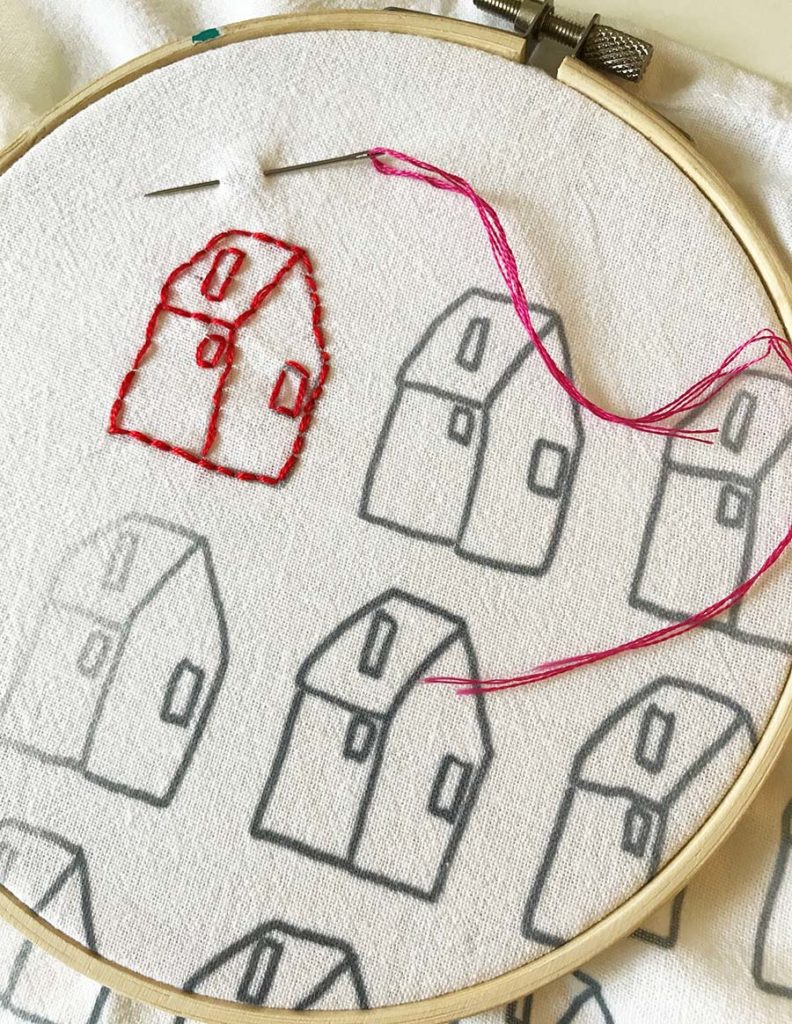 Embroidery 101 Project Backstitch Laura K Bray Designs